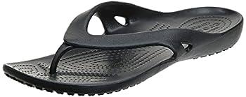 Crocs Kadee II Flip Flops   Sandals for Women Black 8