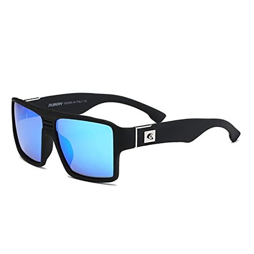 NBJSL Gafas de sol polarizadas Clásico Unisex - Lente de estilo vintage Uv400 para conducir Gafas de pesca - Estuche para gafas de sol
