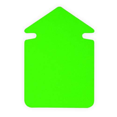 Leuchtpfeile - Werbepfeil Neon PFEIL GROSS, 35cm 5 Stück, leuchtgrün
