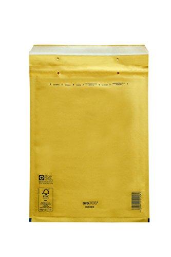 Carte Dozio - Buste imbottite avana per spedizioni - F.to interno mm 145x215-100 pz conf.