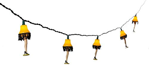A Christmas Story Kurt Adler UL 10-Lights Leg Lamp Light Set (CS9141) - 2 Pack