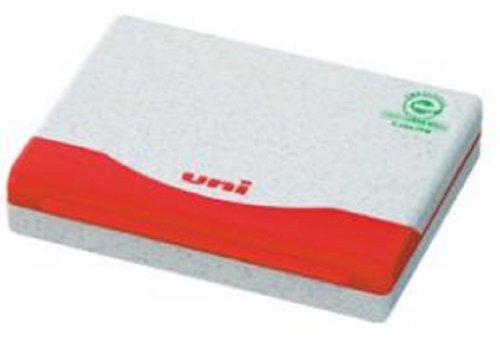 三菱鉛筆 スタンプ台 ユニ 普通紙速乾 1号 HSP1F.15 赤