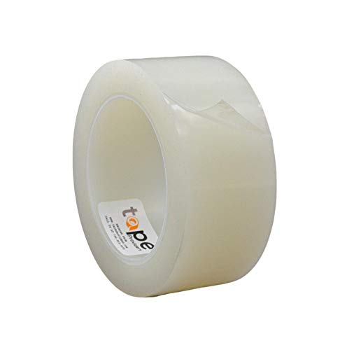 WOD GHT5E Heavy-Duty Repair Tape, Clear - 2 inch x 108 ft. Long Term UV Resistant Weatherseal Film, for Greenhouse Rips or Punctures in RV, Boat Sails, Canvas, Pool Covers, or Camper