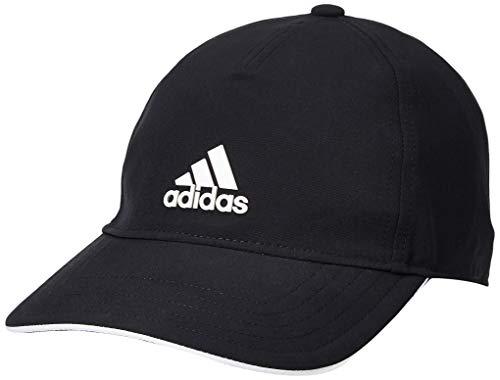 adidas Aeroready Baseball, Cappellino con Visiera Uomo, Black/White/White, Taglia Unica