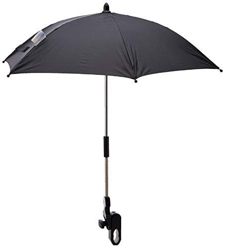 Universal Baby Sonnenschirm für Silver Cross Kinderwagen schwarz