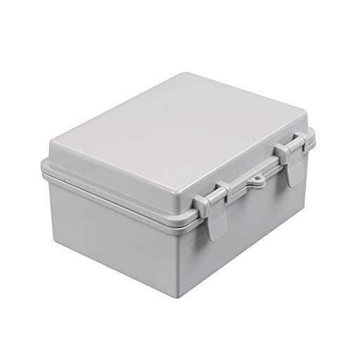 CrocSee ABS Plastic Dustproof Waterproof IP65 Junction Box Universal Durable Electrical Project Enclosure With Lock (8.6 x6.7 x4.3 )