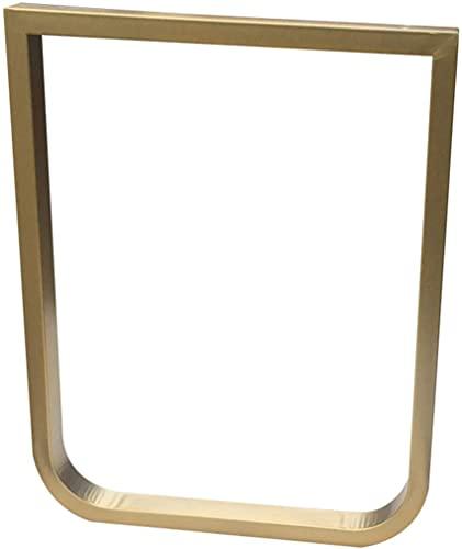 ZXLRH Patas de Mesa de Metal, Patas de Hierro para Muebles industriales, Patas de Mesa en Forma de U con Marco de Bricolaje, Base de Mesa de Centro Pesada/Patas de Mesa de Bar, 1 Pieza