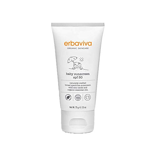 erbaviva Baby Sunscreen SPF 30, 2.5 oz