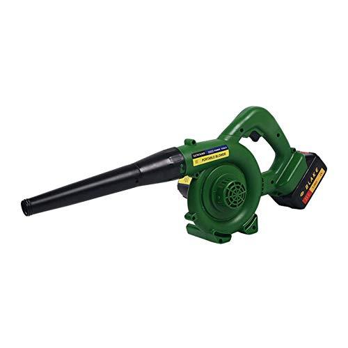 HYDDG Lightweight Cordless Leaf Blower, Electric Garden Blower Vacuum Cleaner Lightweight High Power for Leaves, Wood Chips, Garden Debris, Grass Cuttings