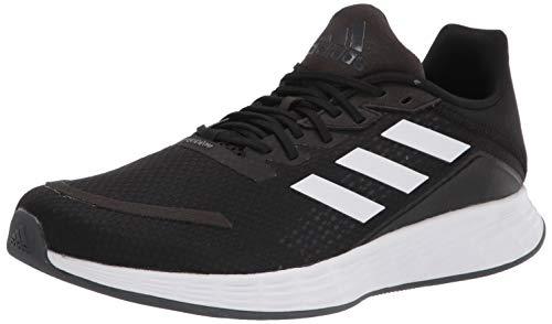 adidas Unisex Duramo SL Wide Water Shoe, Black/White/Grey, 10.5 US Men