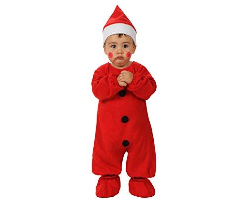 Atosa - 12785 - Déguisement de Père Noel - Taille 0-6 Mois