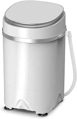QUZHCP lavadora portátil, Mini Portátil De Lavado Semi-automático De La Máquina Y Secador Rotatorio, De Ahorro De Energía De Esterilización, Capacidad 3,8 Kg, 1,5 Kg Capacidad Deshidratación, Convenie