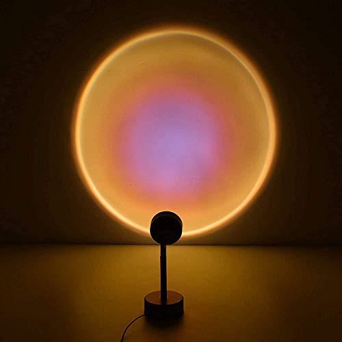 Lámpara de proyección Sunset,De Luz De Noche Led Lámpara De Atmósfera De...