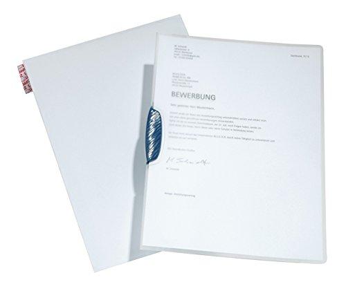 DURABLE Hunke & Jochheim Bewerbungs-Set Swingclip®, PP-Hartfolie, DIN A4, 30 Blatt, transparent