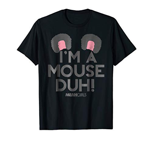 Mean I'm A Mouse Duh Ears Graphic TShirt