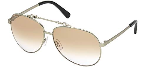 DSQUARED2 Gafas de sol DQ0356 Gafas de sol 59F Mujer color Beige marrón tamaño de lente 63 mm