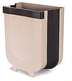 Hanging Trash Can Kitchen Cabinet Door Hanging Trash Small Compact Garbage Can Hanging Cabinet Trash Plastic Bag Holder Ha...