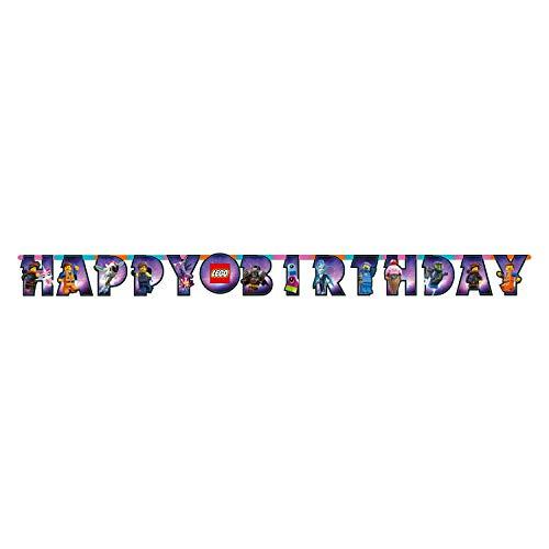 Lego 9904646 Partykette Movie 2 Happy Birthday, mehrfarbig