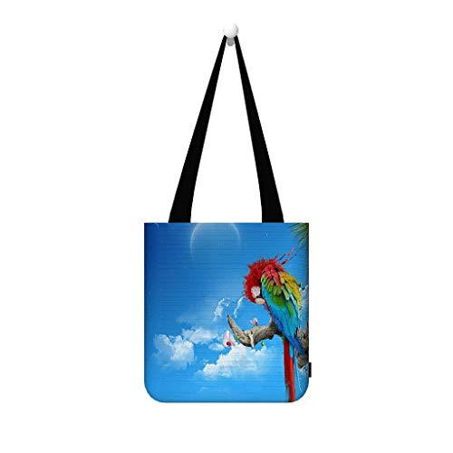 Paisaje pájaros nube árbol debería bolso bolso