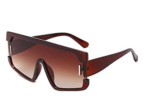 JINZUN Gafas de Sol de Moda Gafas de Sol cuadradas Deportes al Aire Libre Visera para el Sol Protección UV Unisex C5