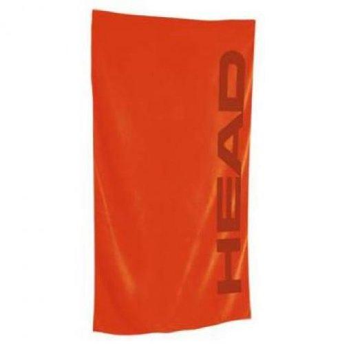 Head Sport Microfiber Towel - Toalla Unisex, Color Rojo