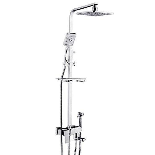 Colonne de Douchedouche robinet douche cuivre thermostatique bronze costume noir american r/étro salle de bain ou douche douche