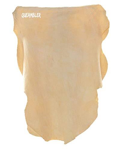 Pelle di Daino di Elevata qualità Panno in Pelle per Auto 60cm x 90cm Panno per Pulizia Vetri Auto Panno di Pulizia e lucidatura di Auto Pelle Daino per Auto
