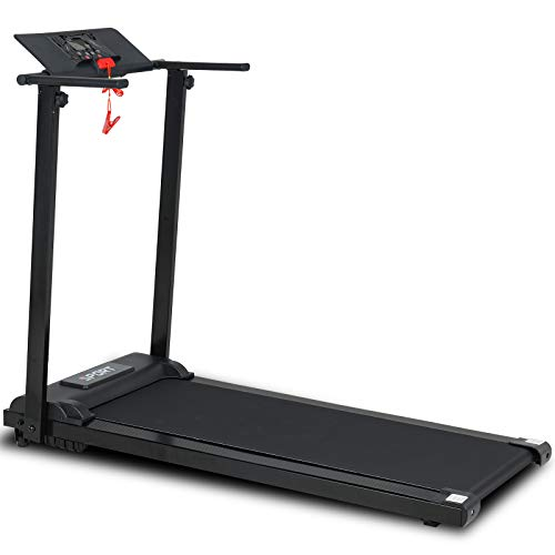 Murtisol Folding Treadmill for Home, Portable Electric Exercise Running Walking Jogging Fitness Machine, Easy Assemble with LCD Display& Low Noise Motor, for Home Gym