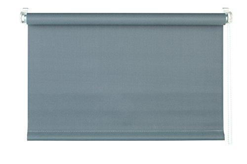 mydeco® 75x160 cm [BxH] in grau - Rollo ohne bohren - Klemmrollo - Rollos inkl. Klemmträger - Sonnenschutz, Sichtschutz für Fenster