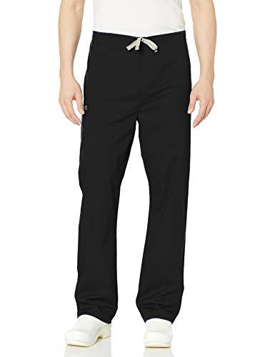 WonderWink Unisex-Adult's Drawstring Cargo Pant, Black, Medium