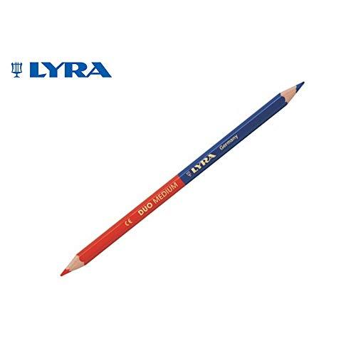 Lyra 2920.0 Markeerstift gescherpt in rood/blauw