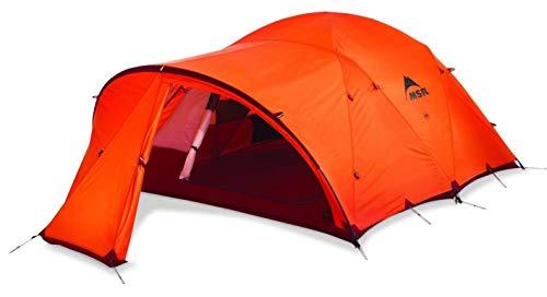MSR Remote 3 Tent: 3-Person 4-Season Orange, One Size