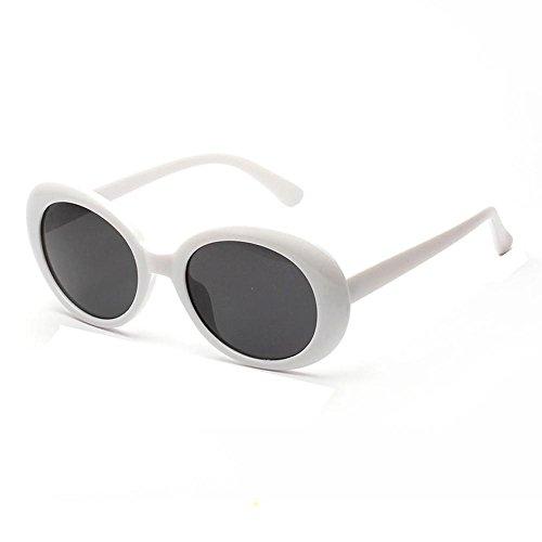 VJGOAL Moda clásica Mujer Retro Vintage Marco redondo Gafas UV Gafas de sol