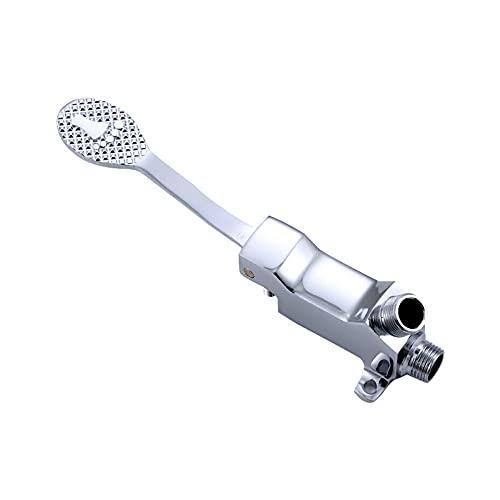 FHK Válvula de fondo del grifo, grifo de fondo, válvula de fondo de latón de suelo, interruptor de control del grifo, utilizado en hoteles, hospitales y otros lugares.