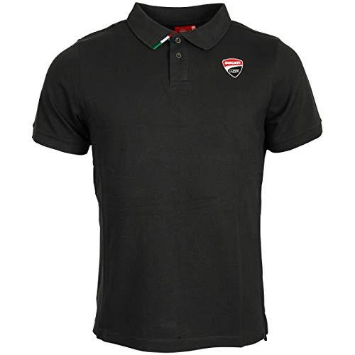 Ducati Corse Offizielles MotoGP Polo Shirt Racing - Schwarz - XL