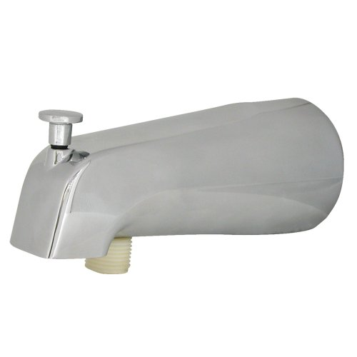 DANCO Diverter in Chrome 89266 Universal Tub Spout with Handheld Shower Fitting