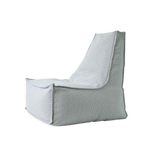 YJchairs Bolsa de Frijoles - Sofa Perezoso con Alto Respaldo Child Gaming Seat Silla Individual (Color : Azul Claro)