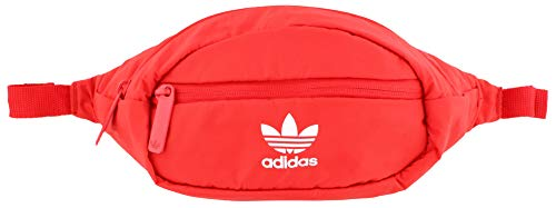 adidas Originals National Waist Pack, Radiant Red/White, One Size
