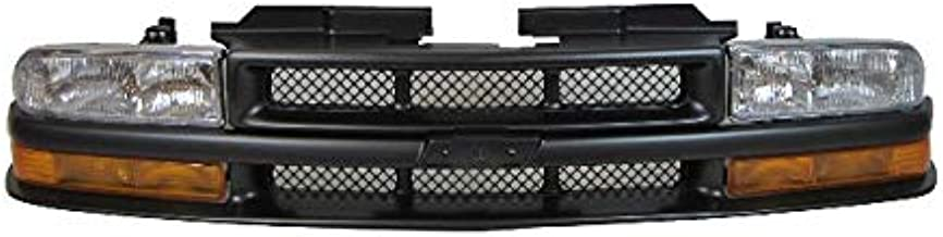 For 1998-2004 Chevy S10 Xtreme Grille Headlight Park Light 5pcs GM1200413 GM2521162 GM2520162 GM2503172 GM2502172