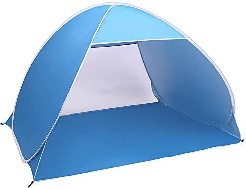 QPP-CL Pop Up Instant Portable Al Aire Libre Quick Cabana Beach Tent Sun Shelter para 2-3 Persona