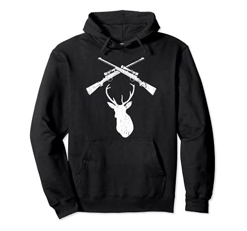 ハンティングライフル 鹿の頭 トロフィー 父 息子 父親 ハンターギフト パーカー