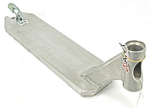 Apex Pro Stunt-Scooter Deck - Tabla para patinete (5 pulgadas, incluye pegatina Fantic26, 580 (49 cm), color negro