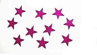 Figuras de goma eva, estrellas moradas de goma eva brillante (3) Silvys handmade amazon