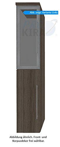 PURIS Crescendo Armadio Alto (hna033b7l/R) Mobile da Bagno, 30cm