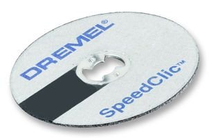 Dremel SC545 EZ SpeedClic Diamant-Trennscheibe (ø 38 mm, Trennscheibe zum Schneiden und Trennen von Metallen und harter Materialien)