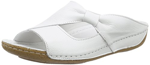 Andrea Conti Damen 0029216 Pantoletten, Weiß (weiß 001), 40 EU
