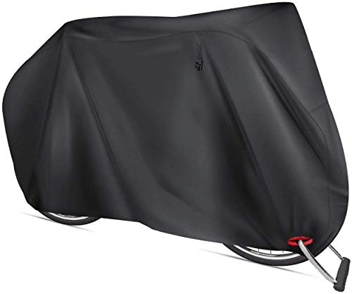 AngLink Fahrradabdeckung für 2 fahrräder wasserdichte 210D Oxford-Gewebe Atmungsaktives Draussen Fahrrad Schutzhülle mit Schlossösen Schutz, für Mountainbike und Rennrad 29 Zoll