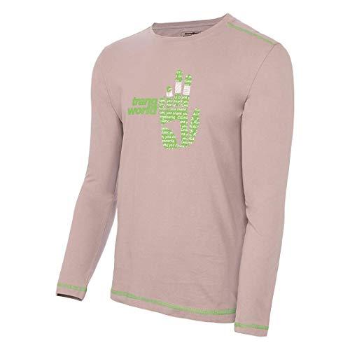 Trangoworld Fingers T-Shirt, Homme M Gris foncé