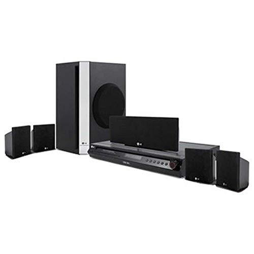 LG HR-353SC sistema de cine en casa 5.1 canales 300 W - Equipo de Home Cinema (Grabador de DVD, DVD-RAM, 80 GB, 5.1 canales, 300 W, 45 W)