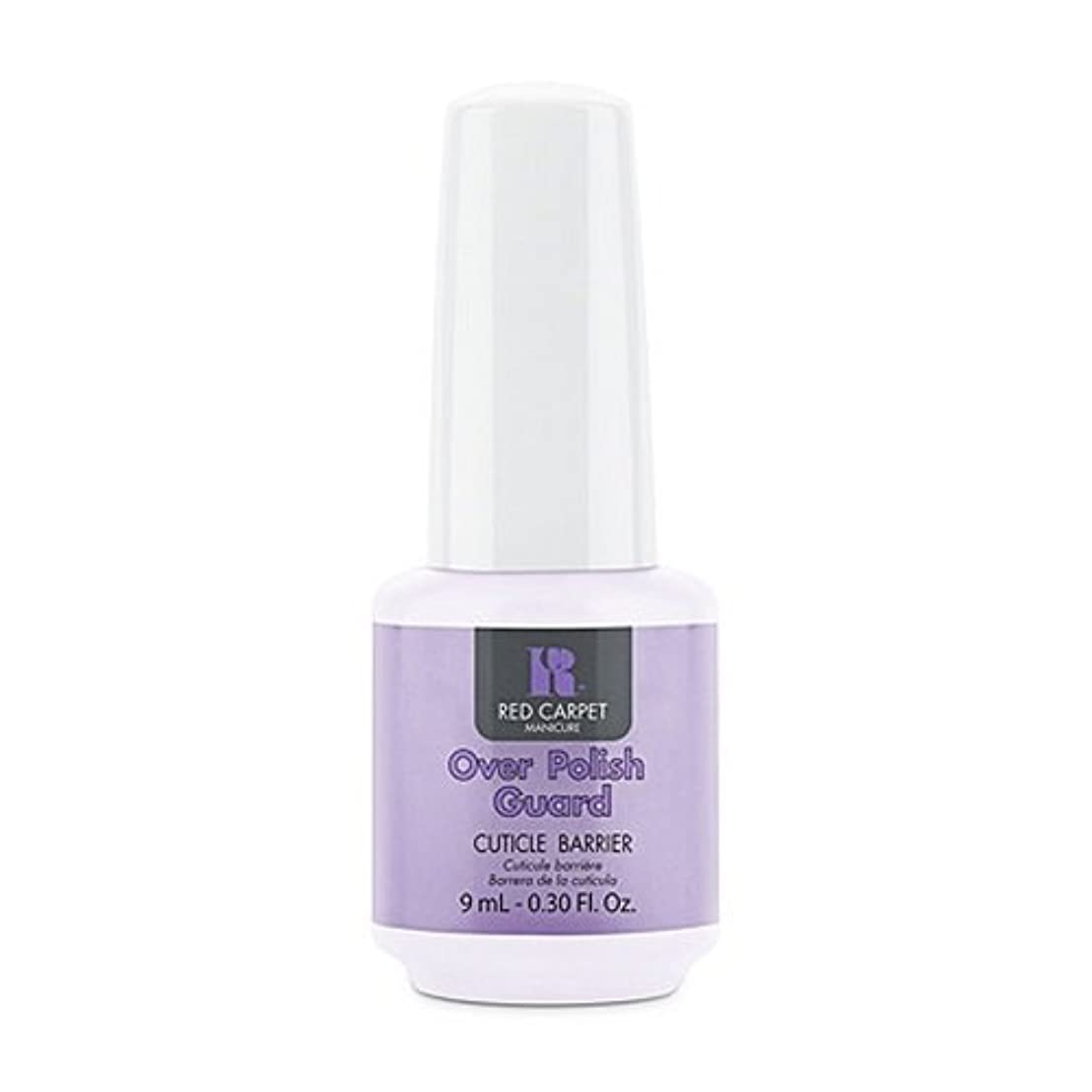 頻繁に構成員強打Red Carpet Manicure - Nail Treatments - Over Polish Guard - 0.3oz / 9ml